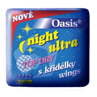 DHV Oasis NIGHT ultra wings top dry 8ks