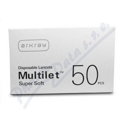 Lanceta Multilet Super Soft 50ks