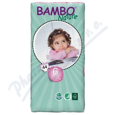 BAMBO Nature XL plen.k. 16-30kg 44ks