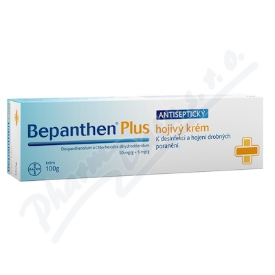 Bepanthen Plus 500mg/g+5mg/g crm.1x100g (D)