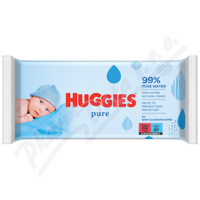 HUGGIES Pure 56ks