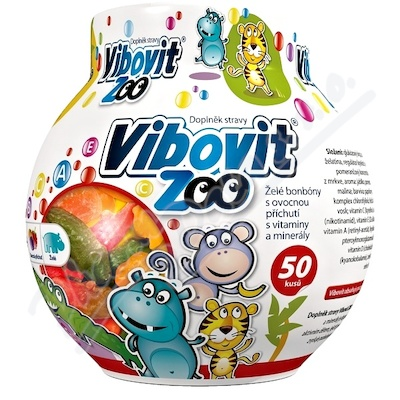 Vibovit Zoo Jelly 50 new