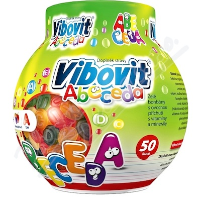 Vibovit Abeceda Jelly 50 new