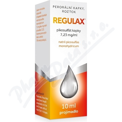 Regulax Pikosulfat kapky gtt.1x10ml/75mg