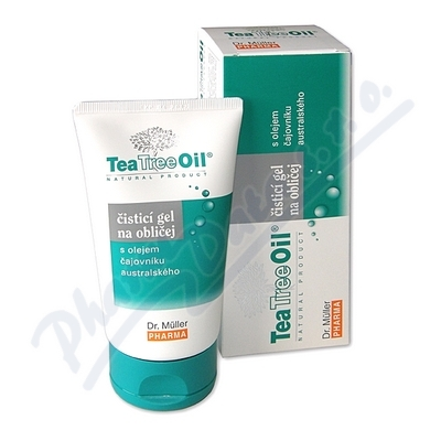 Tea Tree Oil čisticí gel na oblič.150ml(Dr.Müller)