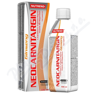 NUTREND NeoCarnitargin s ženšenem 500ml