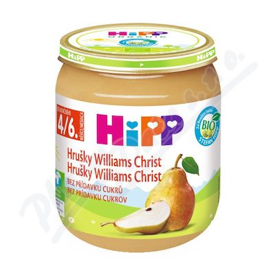 HiPP OVOCE BIO Hrušky Williams-Christ 125g