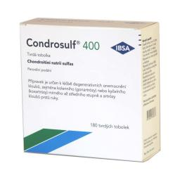 Condrosulf 400 mg cps.dur. 180