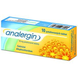 Analergin por.tbl.flm. 10x10mg